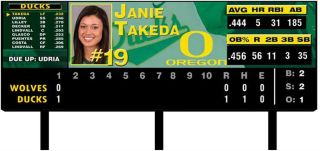 Oregon Softball Stadium Getting Daktronics Video Board