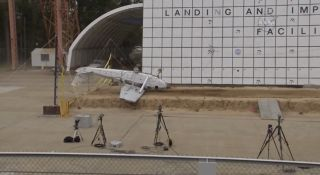 NASA Crashes Plane to Test Emergency Beacons