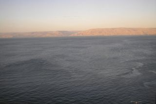 Sea of Galilee, monumental structure, mysterious structure