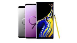 Samsung galaxy s9 and note 9 deals from carphone warehouse