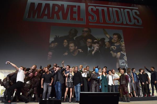 Comic-Con marvel cast