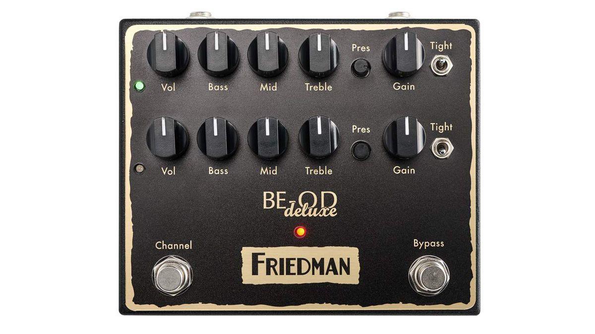friedman be od deluxe review musicradar. Black Bedroom Furniture Sets. Home Design Ideas