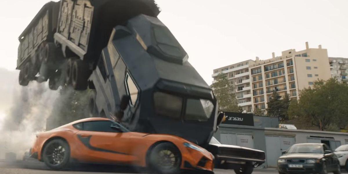 F9 magnet stunt