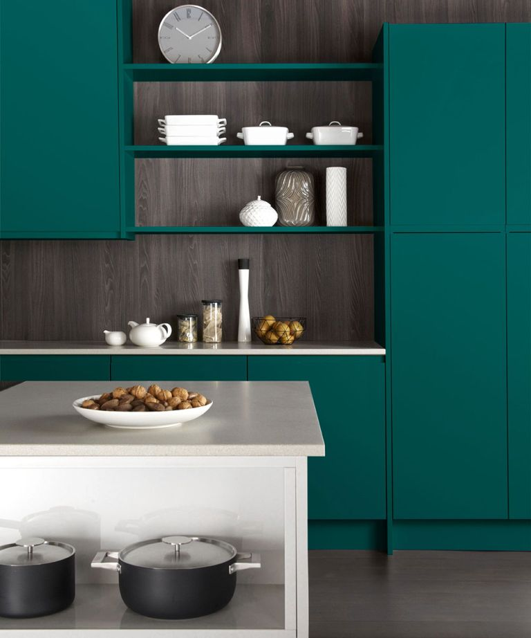 Kitchen color trend is green for 2021