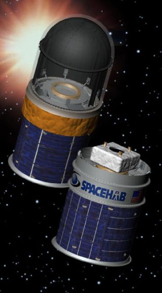 Spacehab Aims High with Apex Spacecraft Trio