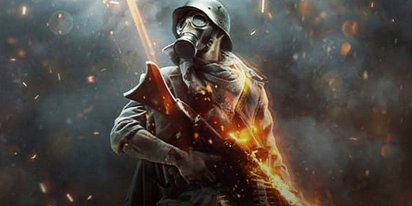 soldier stands ready Battlefield 1