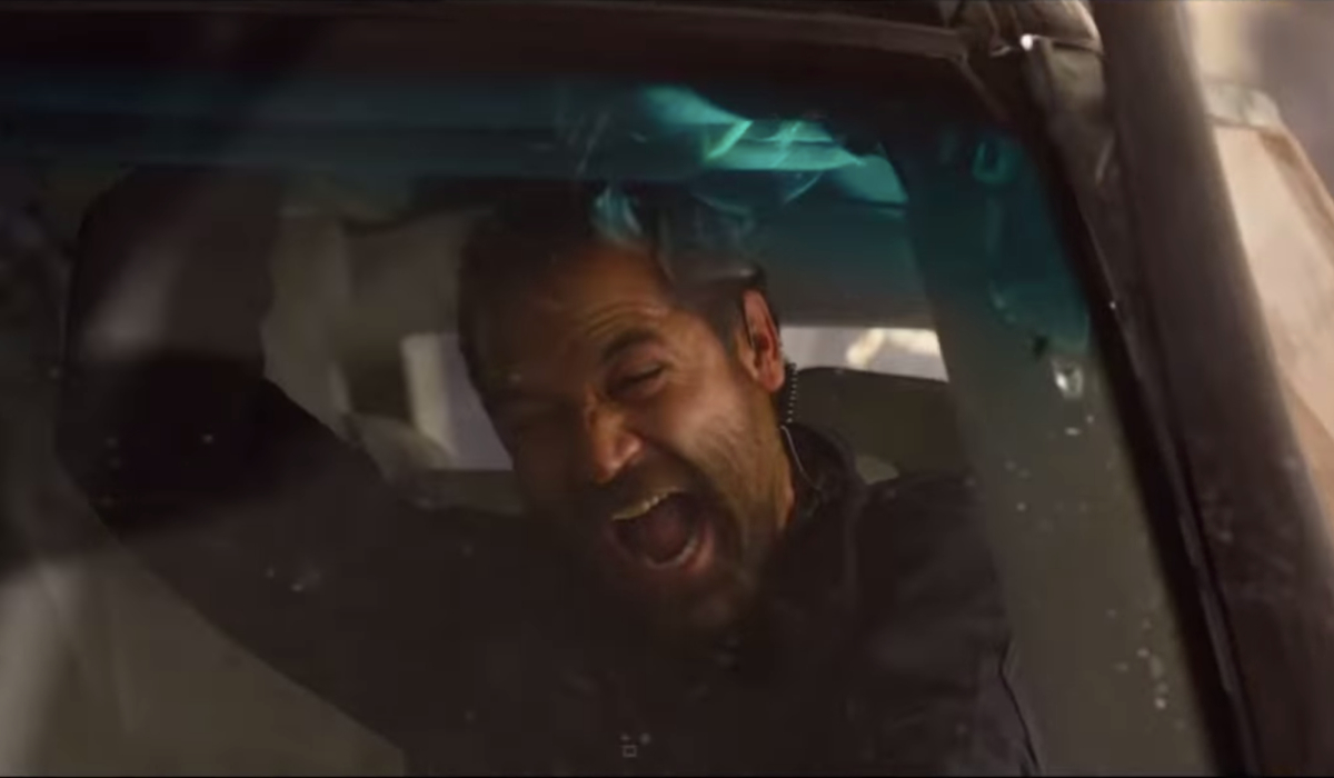 6 Underground Manuel Garcia-Rulfo screaming in a car flip
