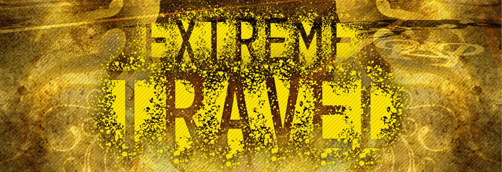 Free graffiti fonts: Extreme Travel