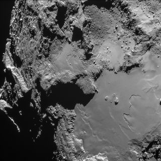 Comet 67P/Churyumov-Gerasimenko Seen from 9.5 Miles