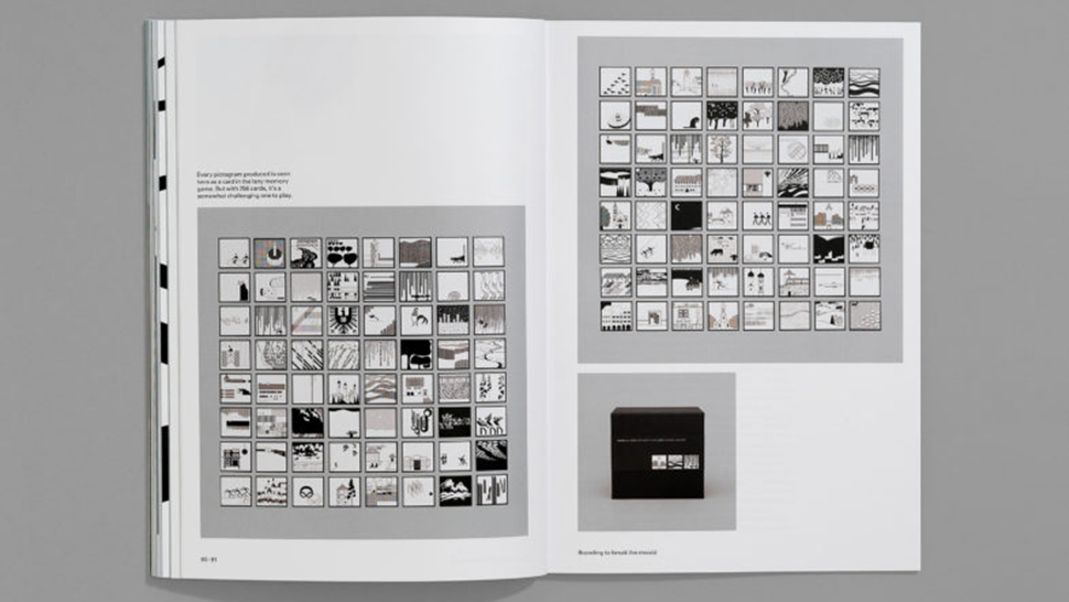 Grids of 8 x 8 small pictograms