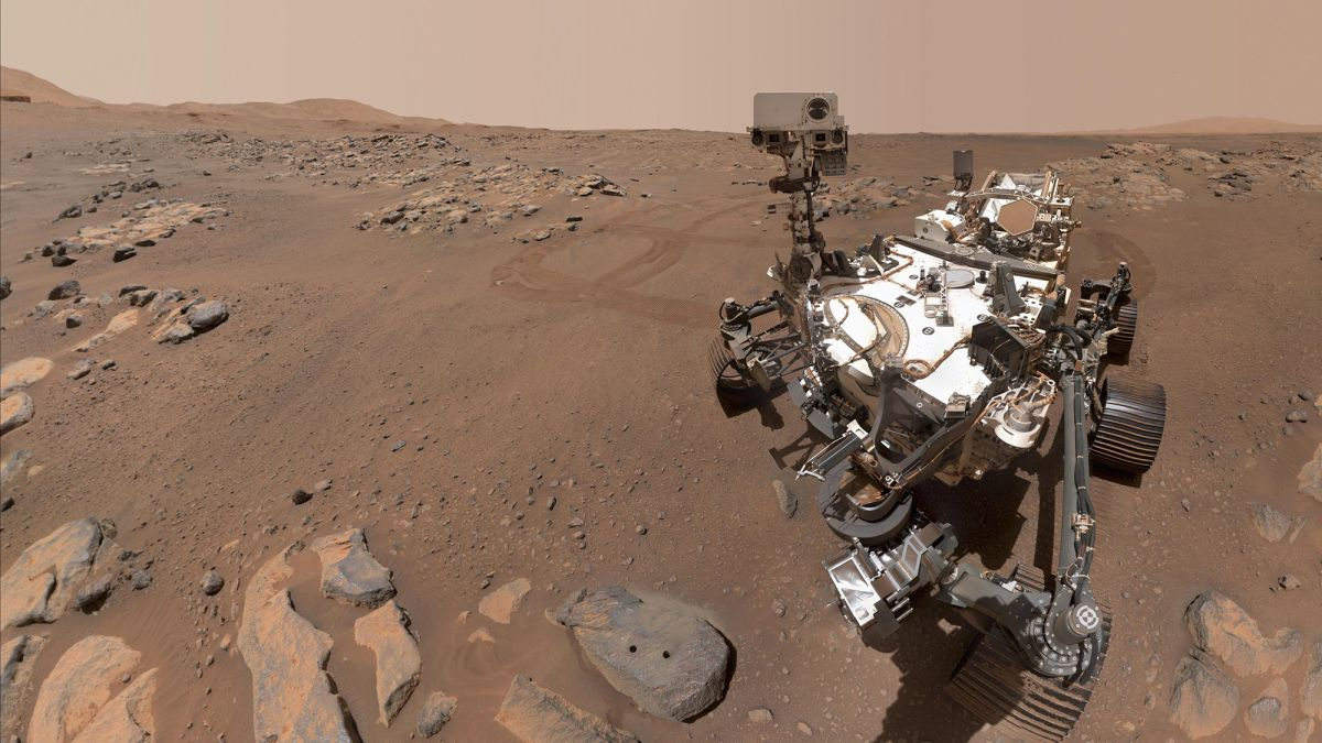 NASA's Perseverance rover cameras capture 'mission-critical' views of Mars — and an epic selfie