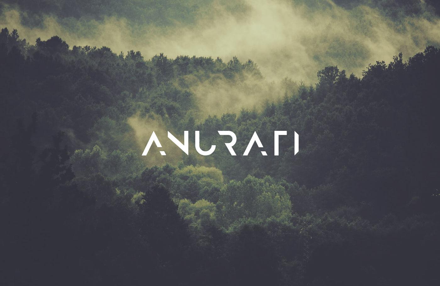 Best free fonts: Anurati