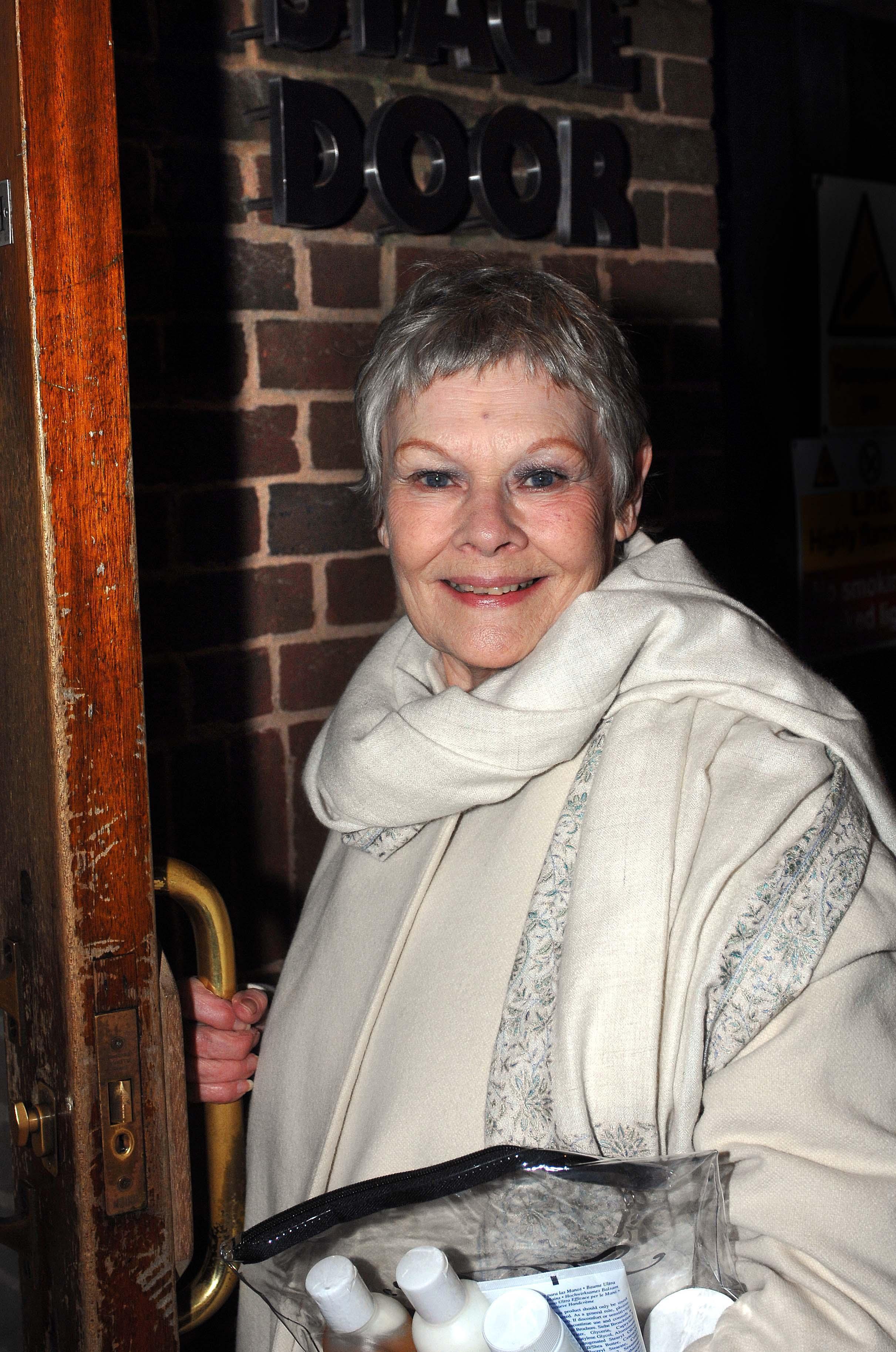 Dame Judi gets Golden Globes nod for Cranford