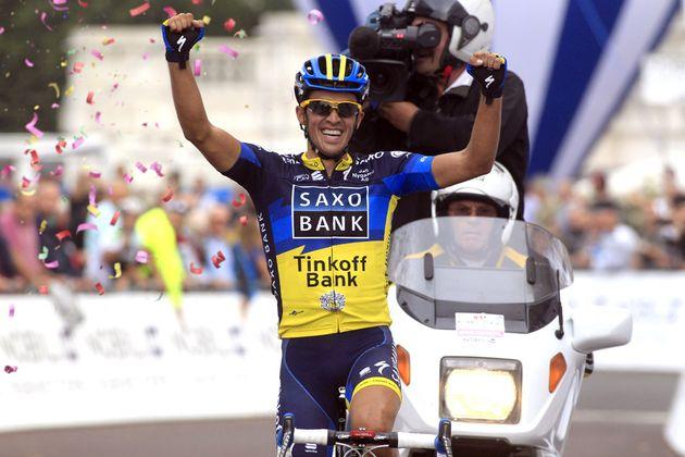 Alberto Contador wins Milan-Turin 2012