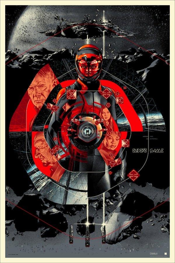 Ender's Game Mondo Poster Regular