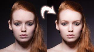 Lightroom tutorial portrait retouch