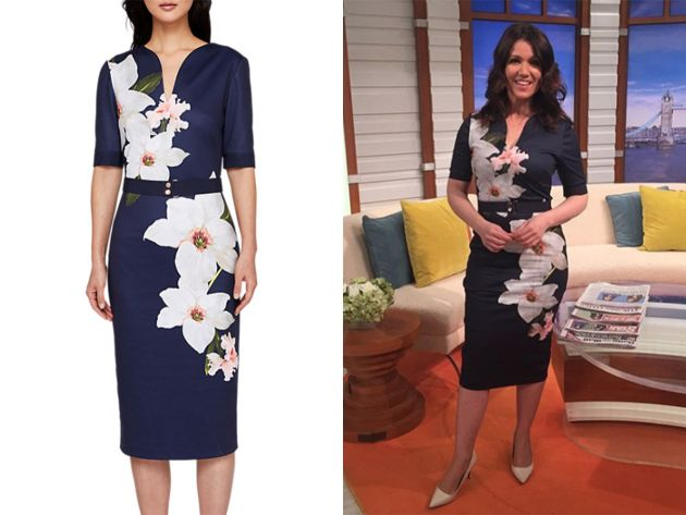 4e11f4519e3 Susanna Reid's Dresses: Where does the GMB Presenter buy her frocks
