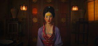 Yifei Liu as Mulan in the live-action remake of Disney's Mulan.