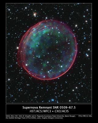 supernova remnant snr 0509