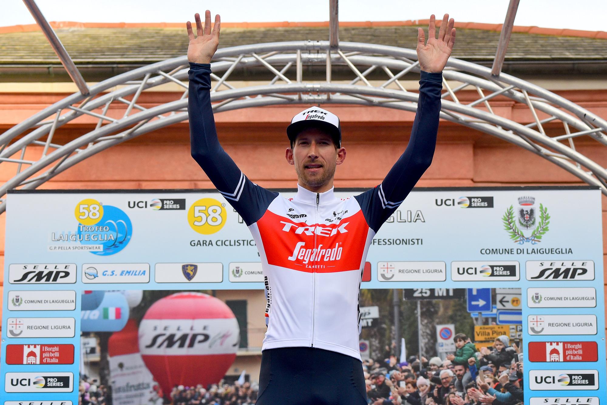Trofeo Laigueglia 2021 58th Edition Laigueglia Laigueglia 202 km 03032021 Bauke Mollema NED Trek Segafredo photo Dario BelingheriBettiniPhoto2021