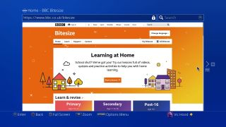 How to access home learning on PS4 and Xbox One