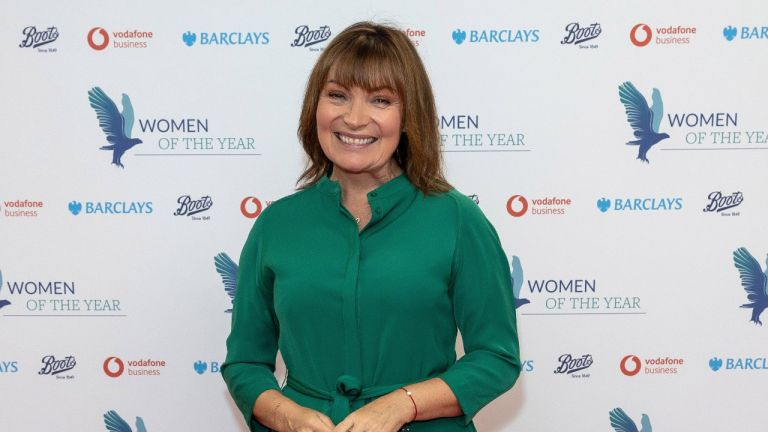 Lorraine Kelly ( Presenting The Women of the Year Community Spirit Award ) attends the Women of the Year Awards on October 12, 2020 in London, England