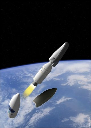 IXV Fairing Separation Illustration