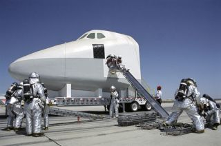 Safe Harbors: NASA Prepares Alternative Landing Sites for STS-114