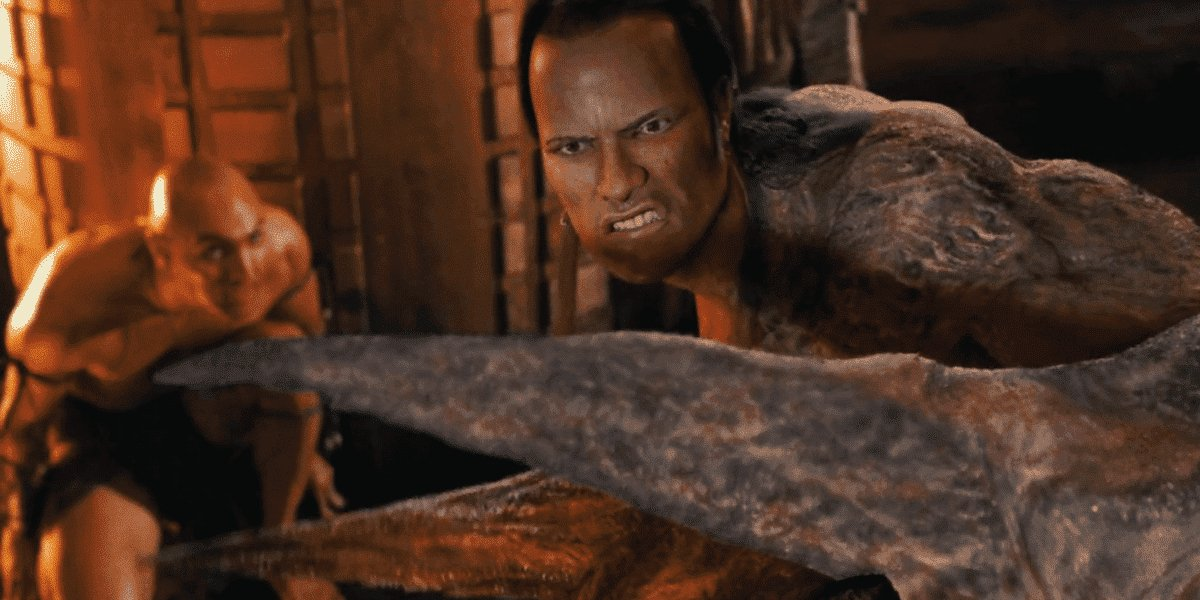 Dwayne Johnson in The Mummy Returns
