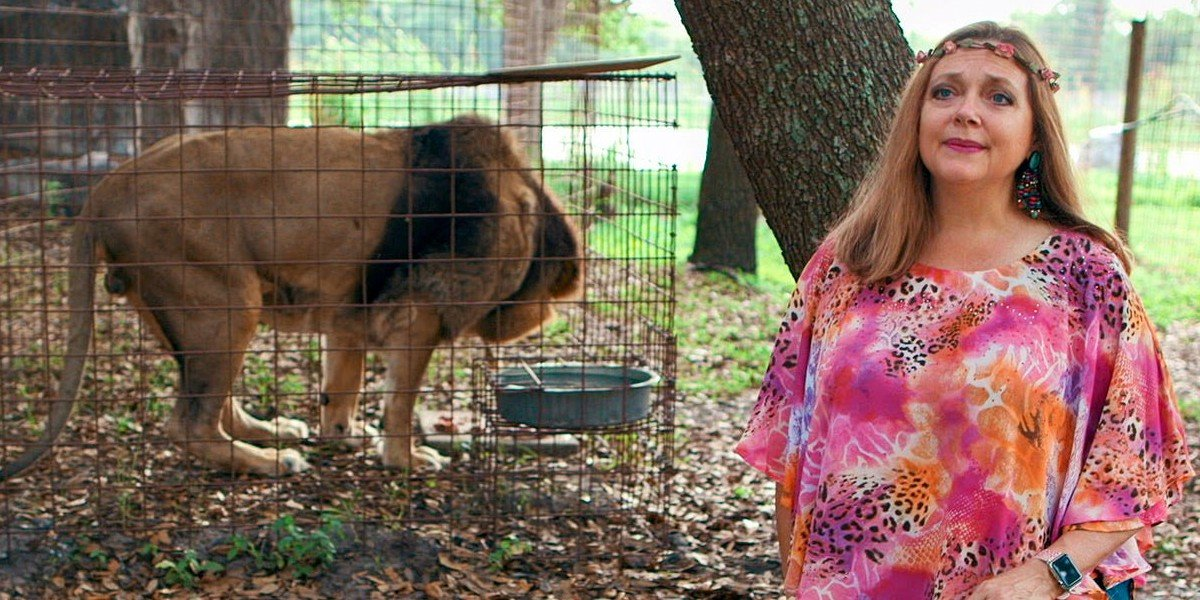 Carole Baskin in Tiger King (2020)