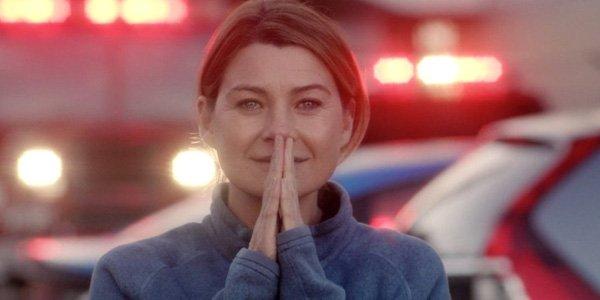 Meredith Grey prayer hands Grey's Anatomy Season 13 ABC