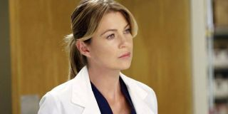 Meredith in the hospital