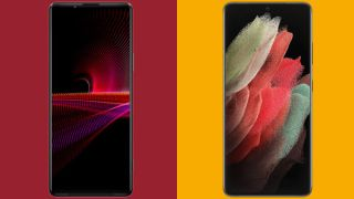 Sony Xperia 1 III vs Samsung Galaxy S21 Ultra