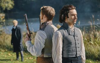 Will Ross Poldark be KILLED in an epic duel? Aidan Turner and Max Bennett reveal all
