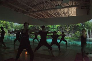 Panasonic Projectors Create Immersive Experience at Oraya Movement