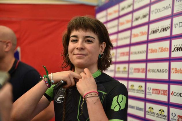 Cylance Pro Cycling's Sheila Gutierre wins stage 7 of the Giro Rosa