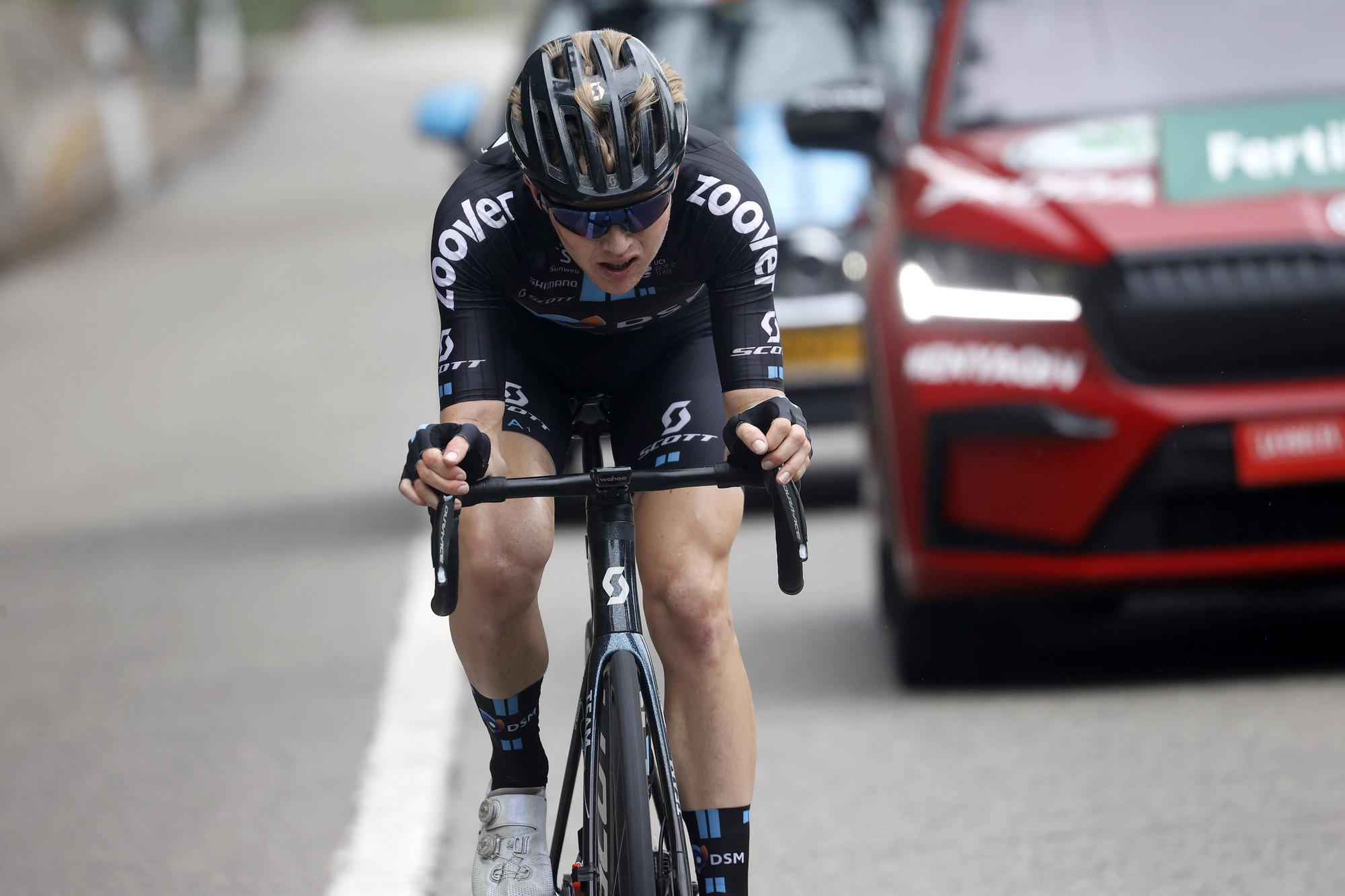 Vuelta Espana 2021 - 76th Edition - 18th stage Salas - Altu d'El Gamoniteiru 162,6 km - 02/09/2021 - Michael Storer (AUS - Team DSM) - photo Luis Angel Gomez/BettiniPhoto©2021