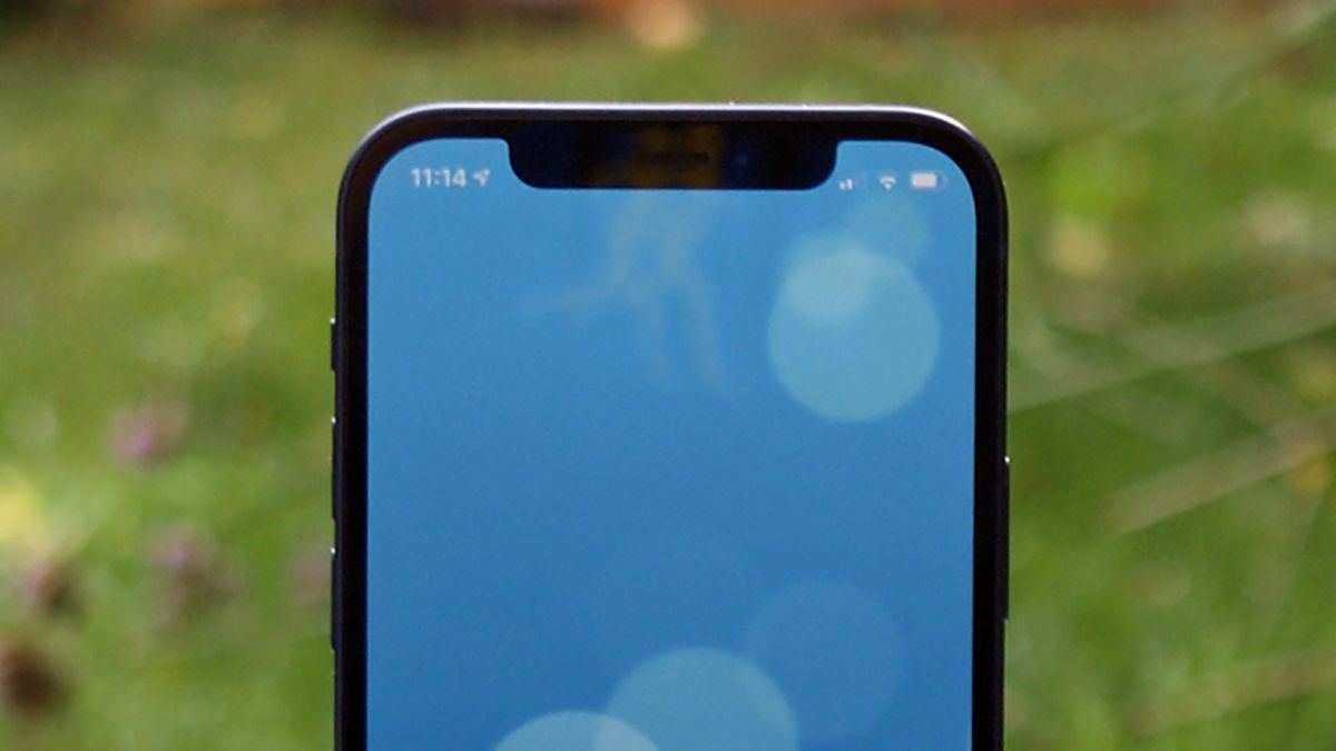 The smaller iPhone 13 notch shows up again in another image leak – Techradar