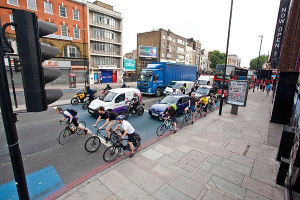 Cycle Superhighway, commute, london