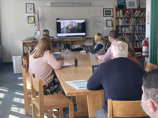 Classroom using Nureva HDL300