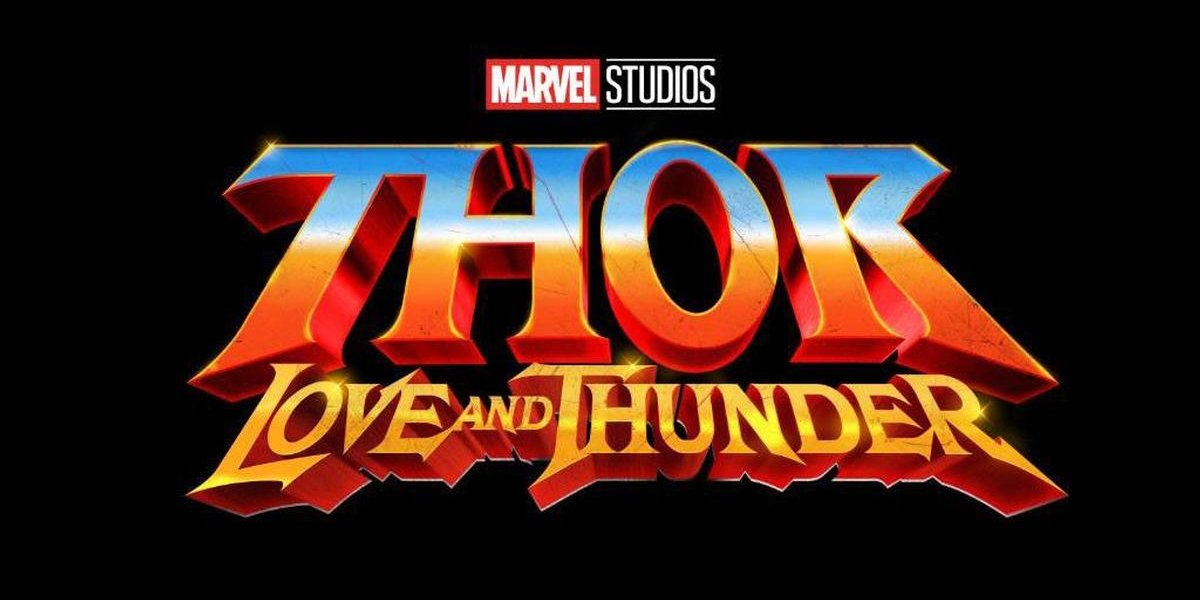 Thor: Love and Thunder title card