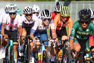 Lizzie Deignan (Team GB) at the Tokyo Olympic Games