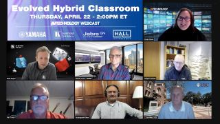 The Evolved Hybrid Classroom Webcast