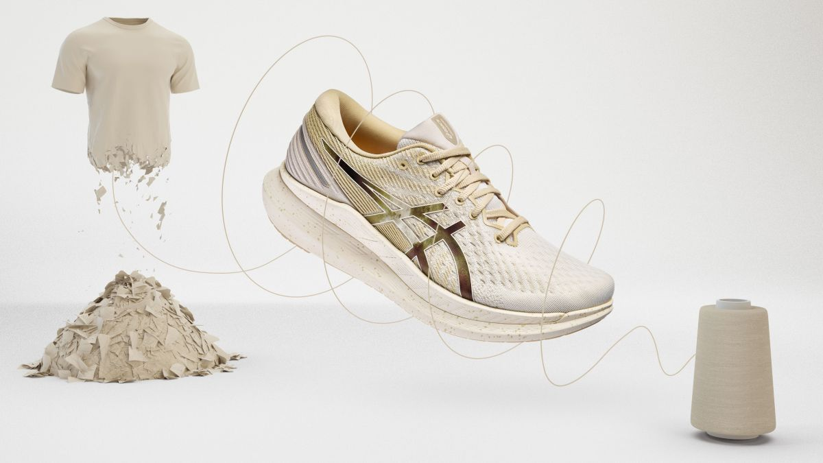 Asics turns 5 tons of waste clothing into new shoes