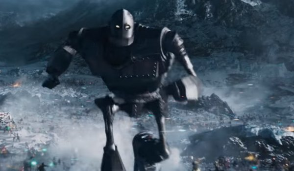 The Iron Giant In Action In Ready Player One