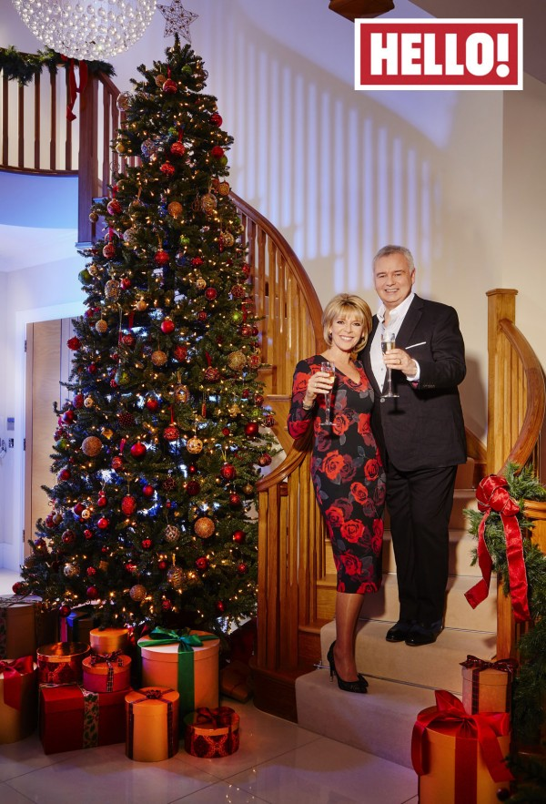 Eamonn Holmes and Ruth Langsford in their new home
