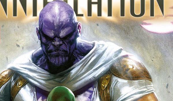 Marvel Annihilation comics