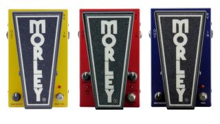 The Morley 20/20 series so far: the Power Volume Wah, the Bad Horsie, and Power Wah
