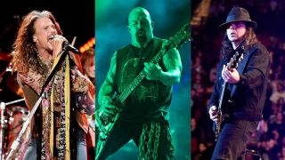 Download bands Aerosmith's Steven Tyler, Slayer's Kerry King and SOAD's Daron Malakian
