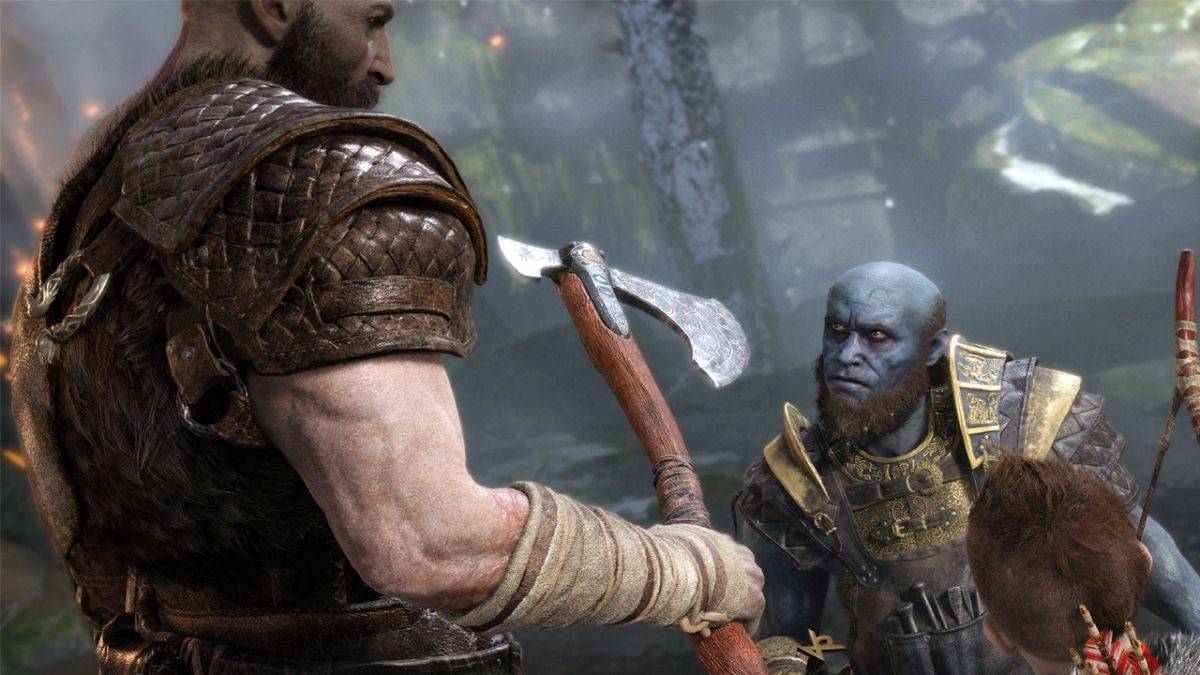 How Marvel's Thor inspired the new God of War Leviathan Axe